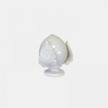 Mini pumo New Bianco - 4,3 cm